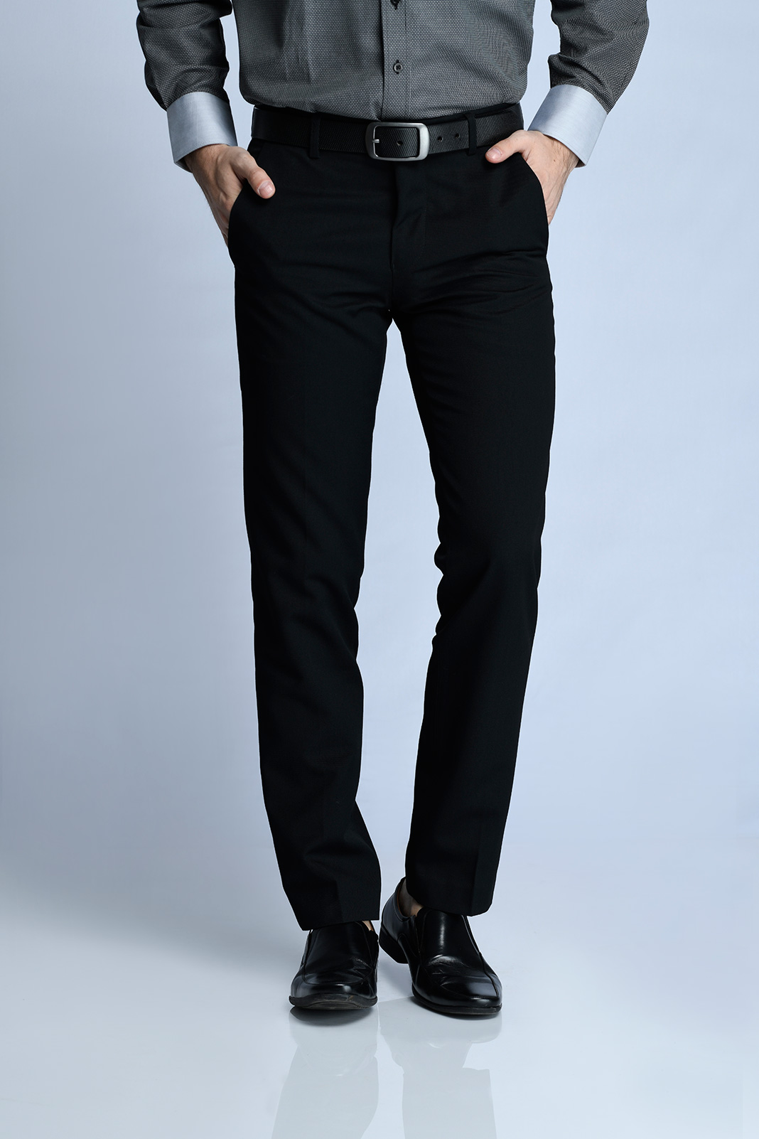 CELANA PANJANG FORMAL SLIM FIT 2 (HITAM)