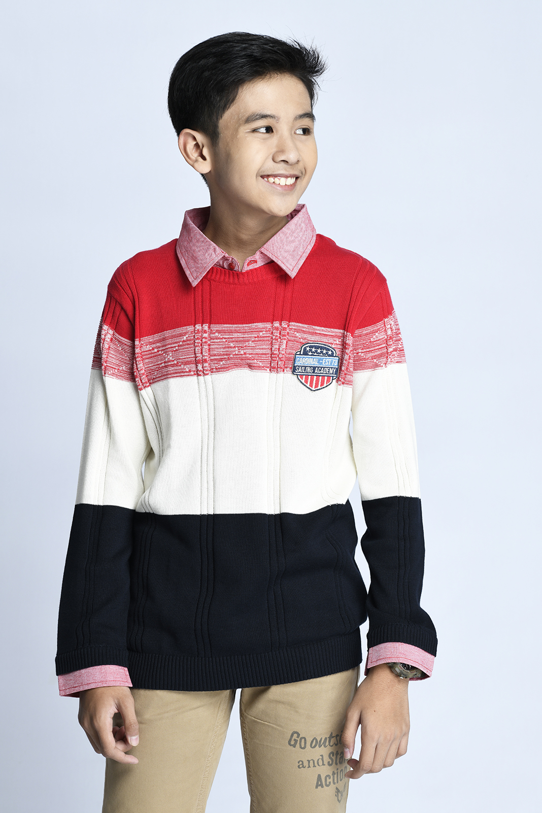 CARDINAL KIDS SWEATER (MERAH)