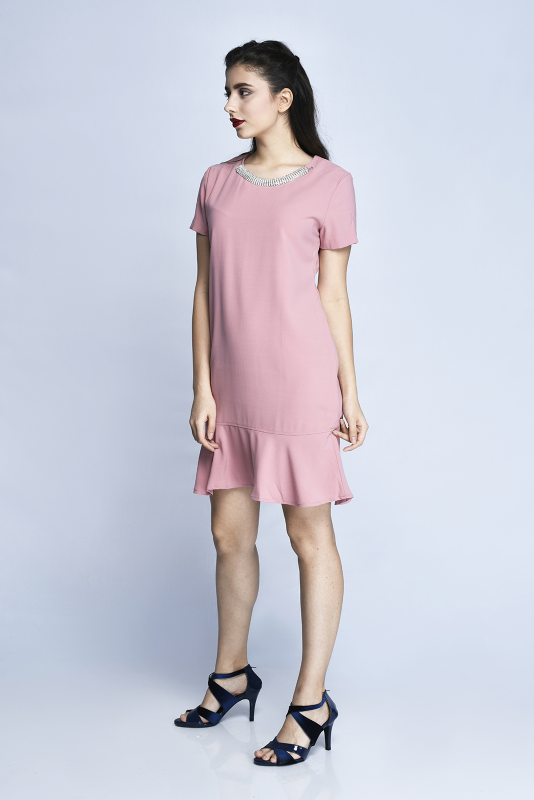 CARDINAL FEMME DRESS 4 (PINK)