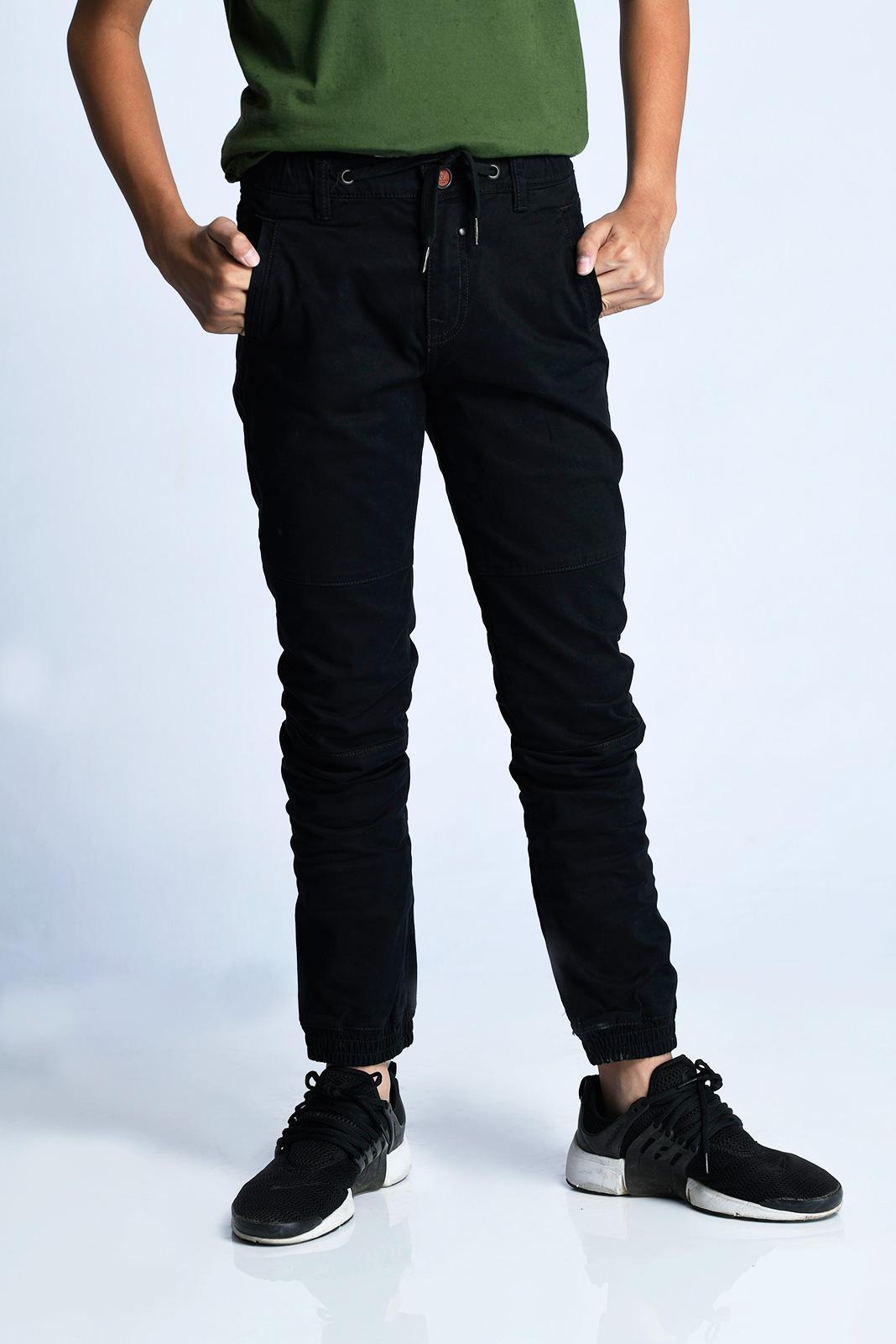 CARDINAL KIDS JOGGER PANTS (HITAM)