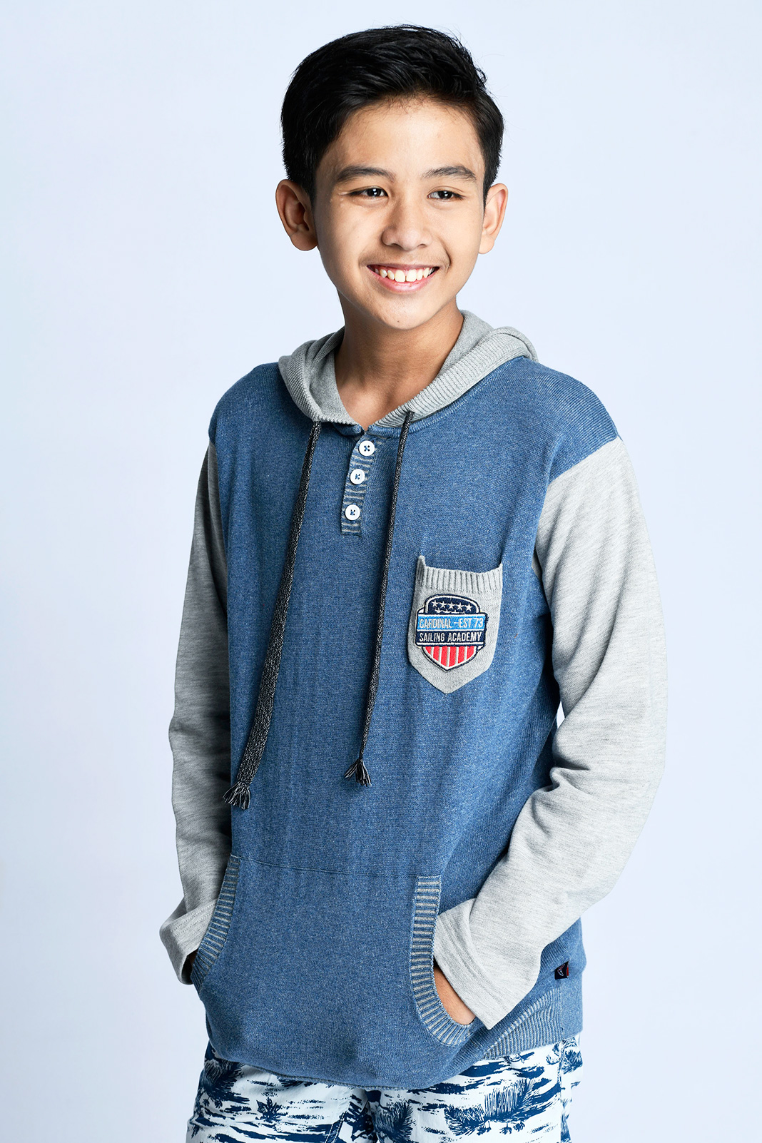 CARDINAL KIDS SWEATER 2 (BIRU)