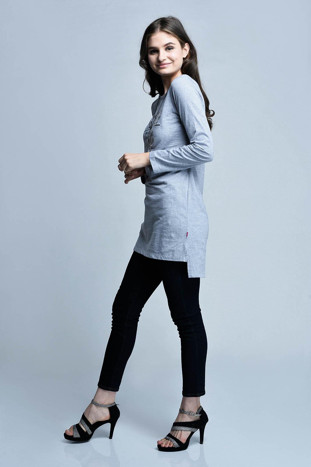 CARDINAL GIRL T-SHIRT 7 (ABU-ABU)