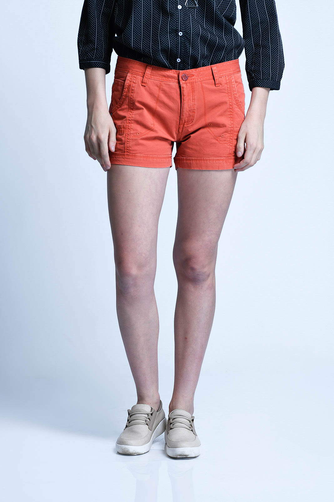 CARDINAL GIRL HOT PANTS 2 (ORANGE)
