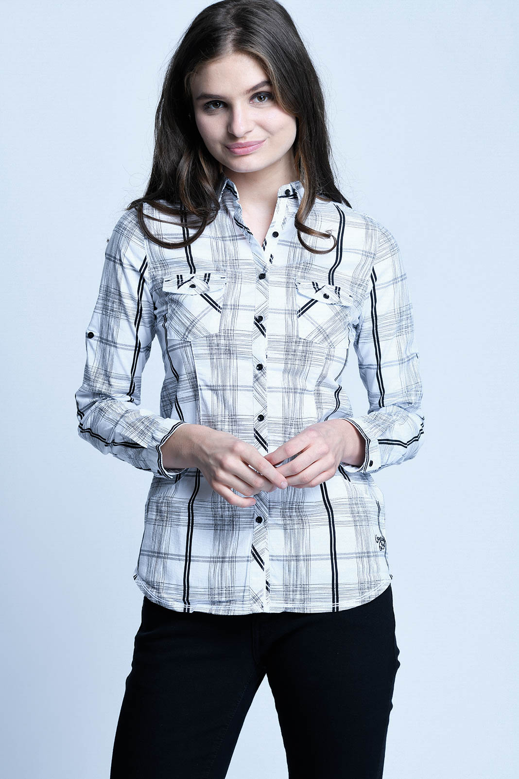 CARDINAL GIRL KEMEJA 8 (HITAM)